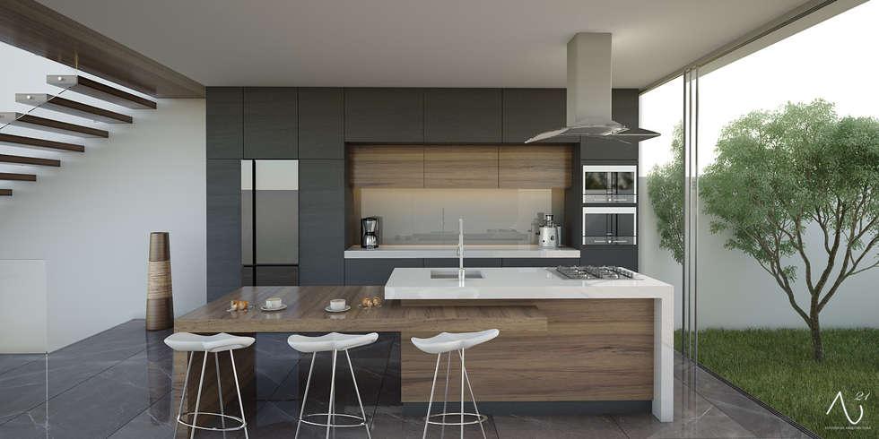 Ideas im genes y decoraci n de hogares homify for Imagenes de cocinas minimalistas