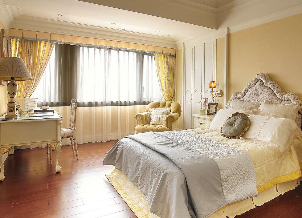 女孩房:  臥室 by 漢品室內設計