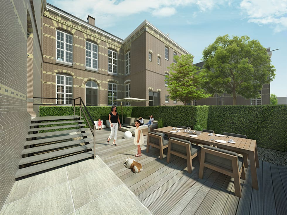 De Rijksadministratie: moderne Huizen door Mei architects and planners