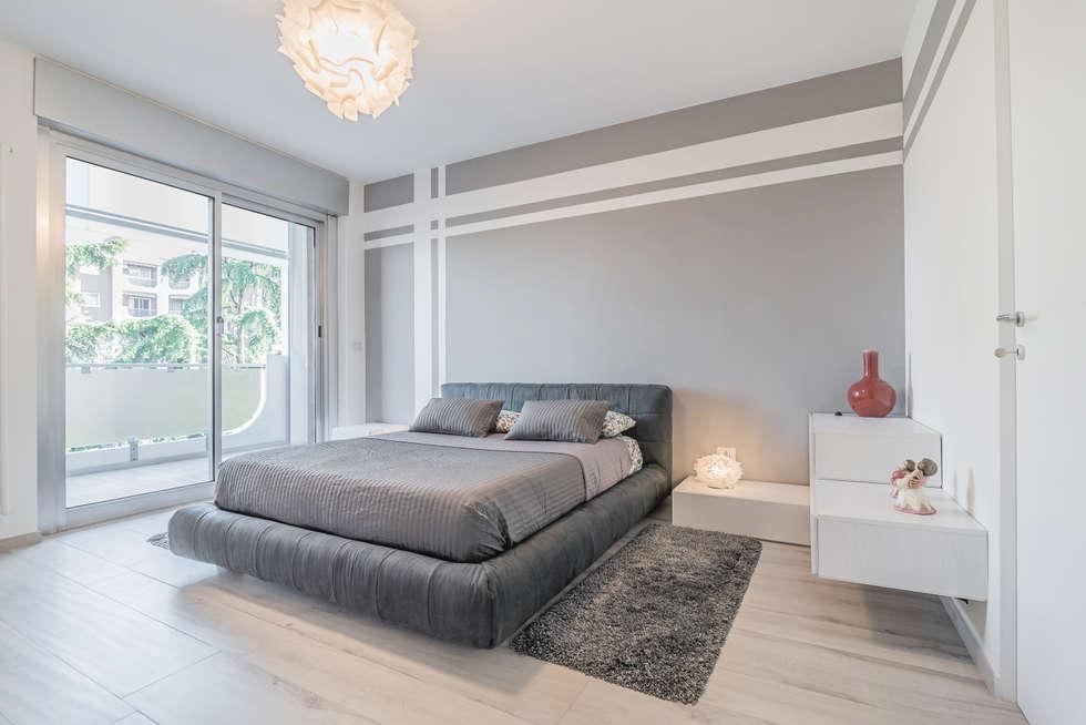 Idee arredamento casa interior design homify for Illuminazione camera da letto matrimoniale