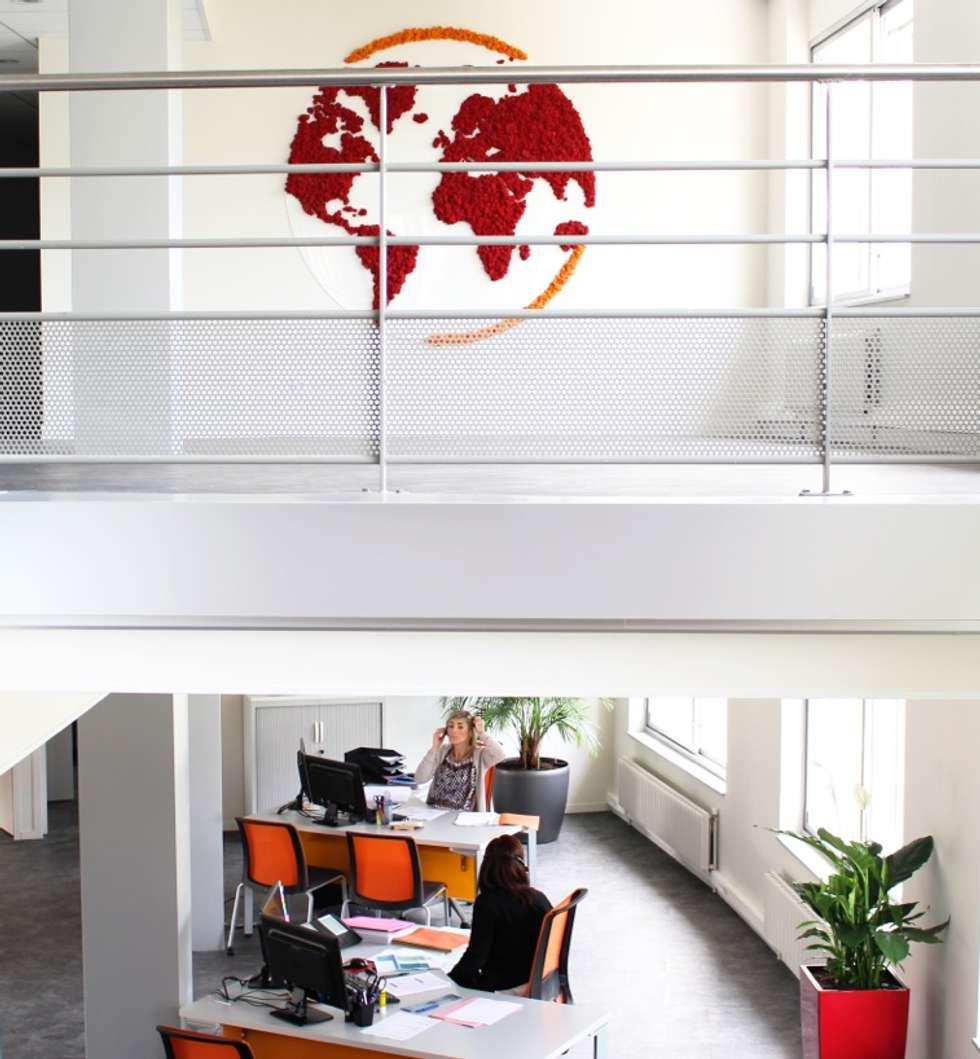 Monde : Bureaux de style  par Green Time