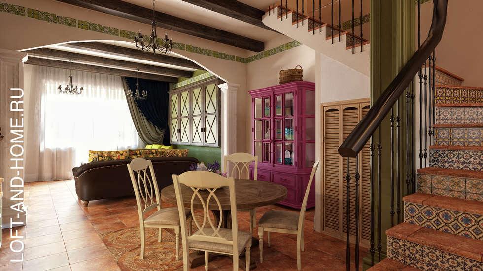 Comedores de estilo colonial por loft&home | homify