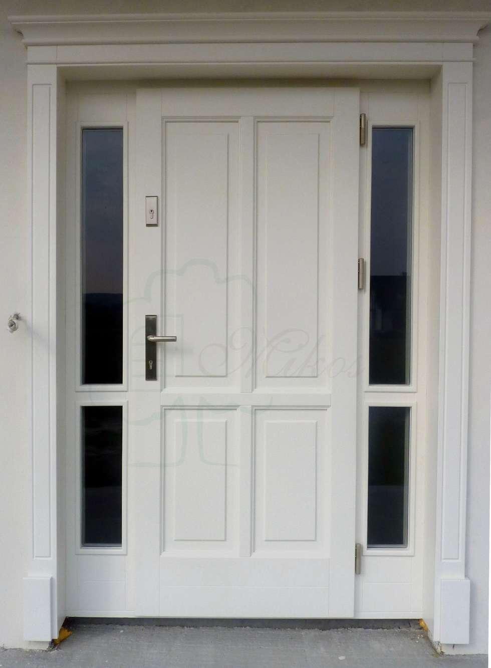 Pomys y na wn trza i zdj cia dekoraci wn trz homify for Drzwi z portalem