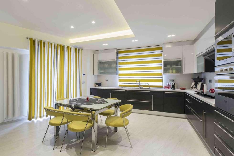 Appartamento FC: Cucina in stile in stile Moderno di ABBW angelobruno building workshop