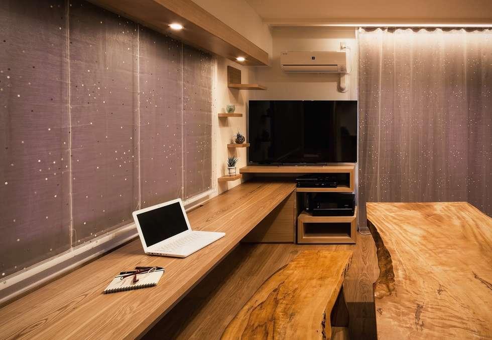 modern Study/office by 株式会社seki.design