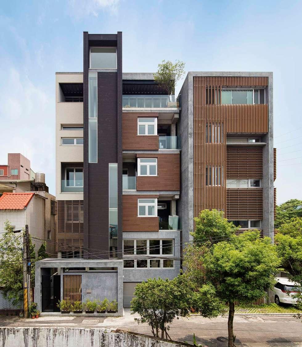 與鄰房協調:  房子 by 前置建築 Preposition Architecture