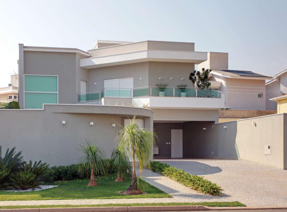 Casa Jose Augusto Camargo: Casas modernas por Caio Pelisson - Arquitetura e Design