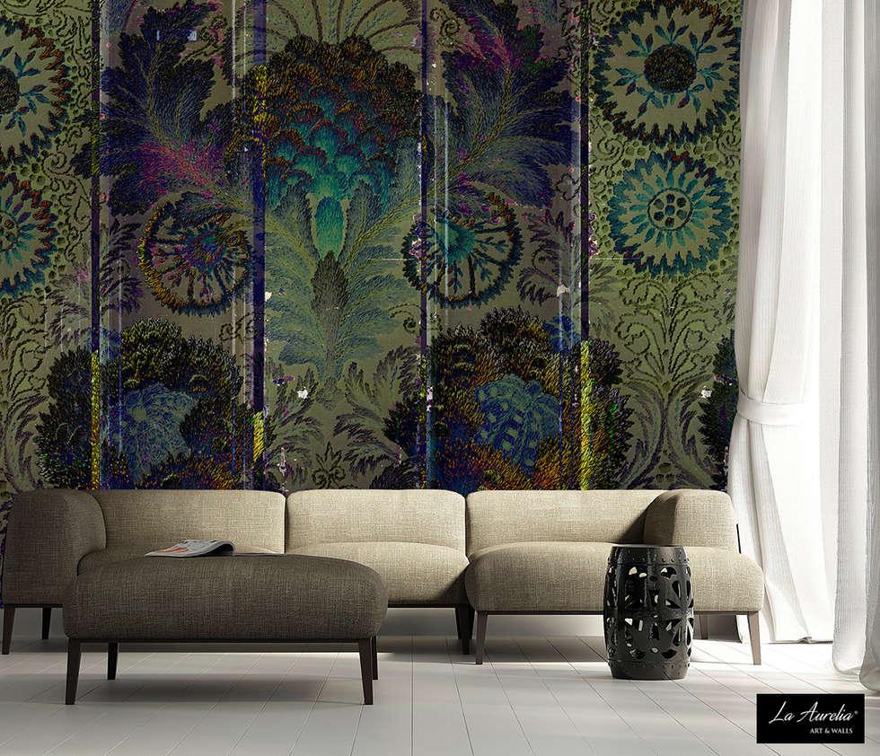 Oasis #160914 Wallpaper:  Muren door La Aurelia