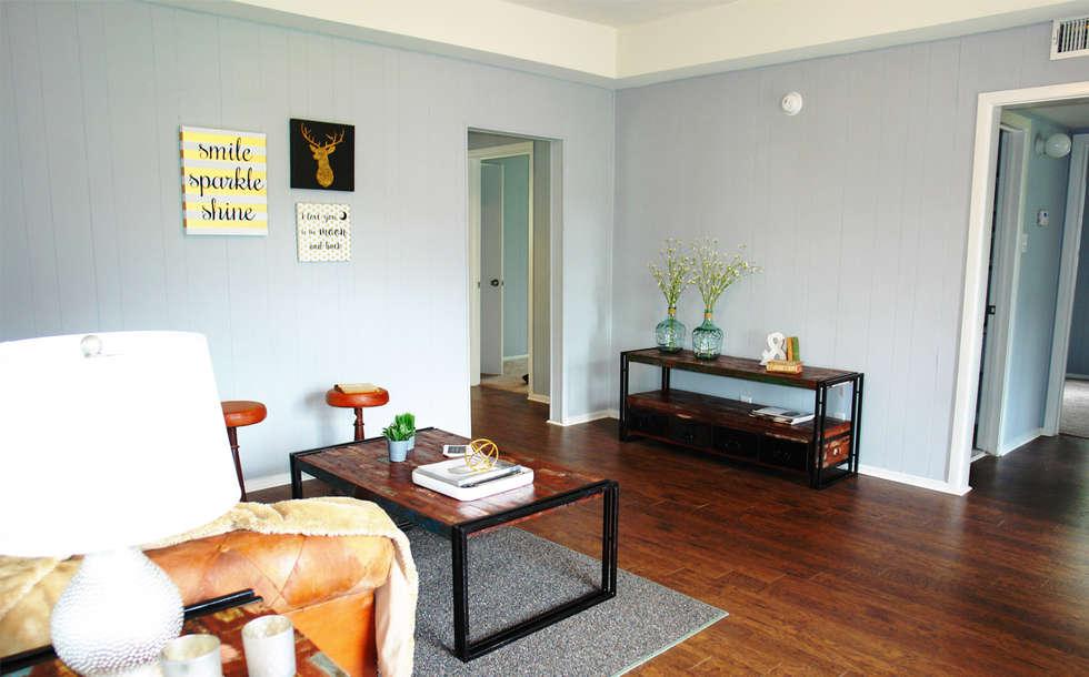 industrial Living room by Noelia Ünik Designs