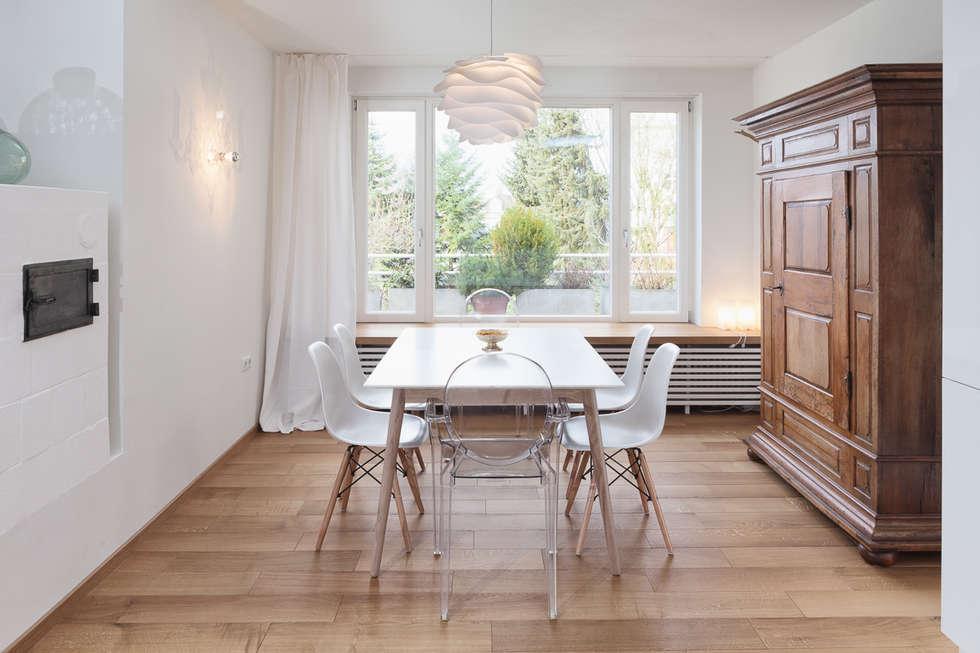 attractive esszimmer skandinavisch #1: Wohnstil _ Skandinavisch: skandinavische Esszimmer von Innenarchitektur-Moll