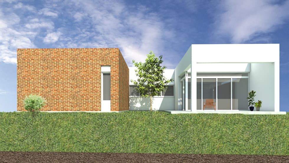 CASA JM: Casas de estilo moderno por Arquitecta Obadilla