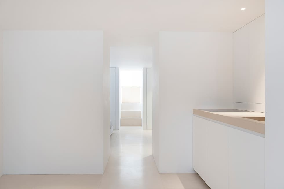 Kitchen - Dining Room: minimalistische Keuken door Jen Alkema architect