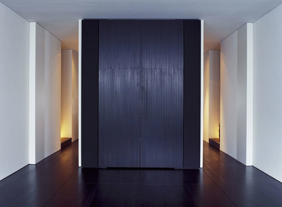 Living Room - Audio Cabinet: minimalistische Woonkamer door Jen Alkema architect