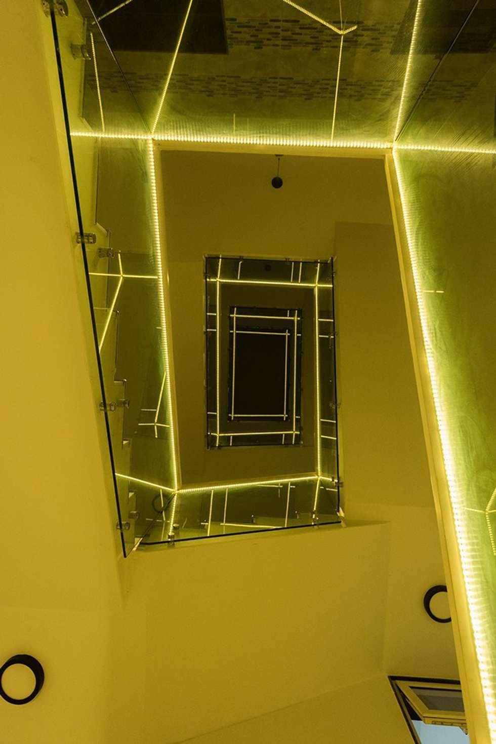 Looking Upward:  Corridor & hallway by Ankit Goenka