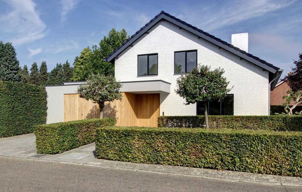 moderne Häuser von CHORA architecten