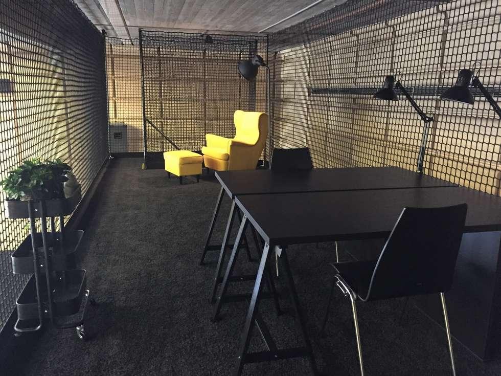 Wohnly Referenzprojekt: Büro Mit Ikea Möbel Einrichten: Moderne  Arbeitszimmer Von Wohnly
