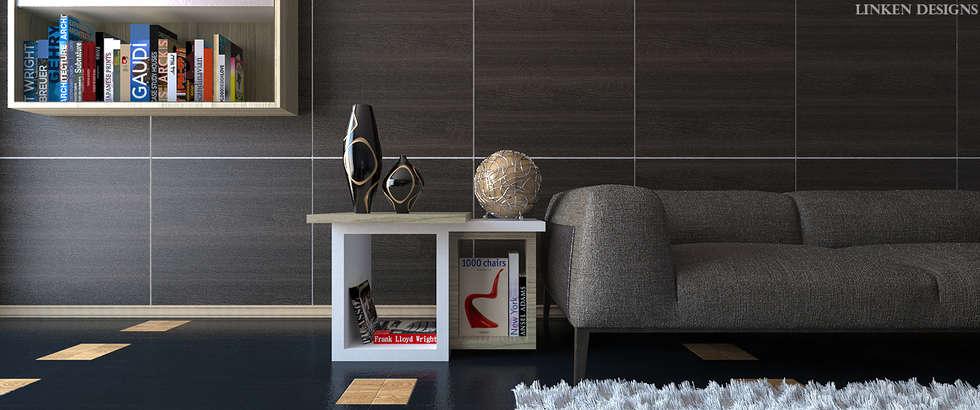 Eclectic Living Room: modern Living room by Linken Designs