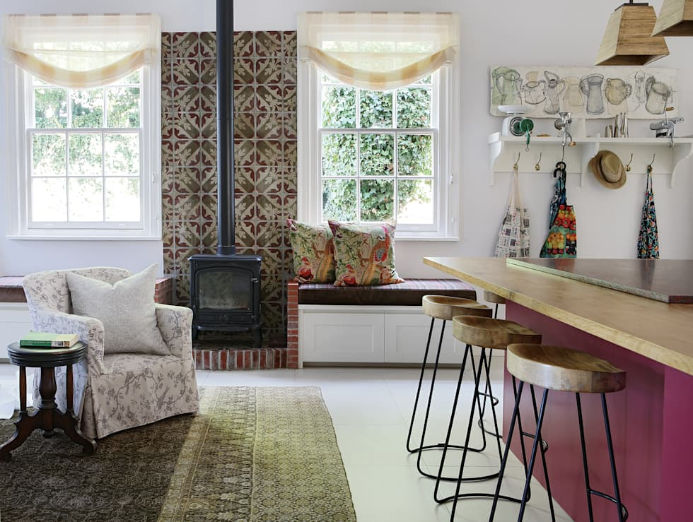 Kitchen: eclectic Kitchen by Natalie Bulwer Interiors