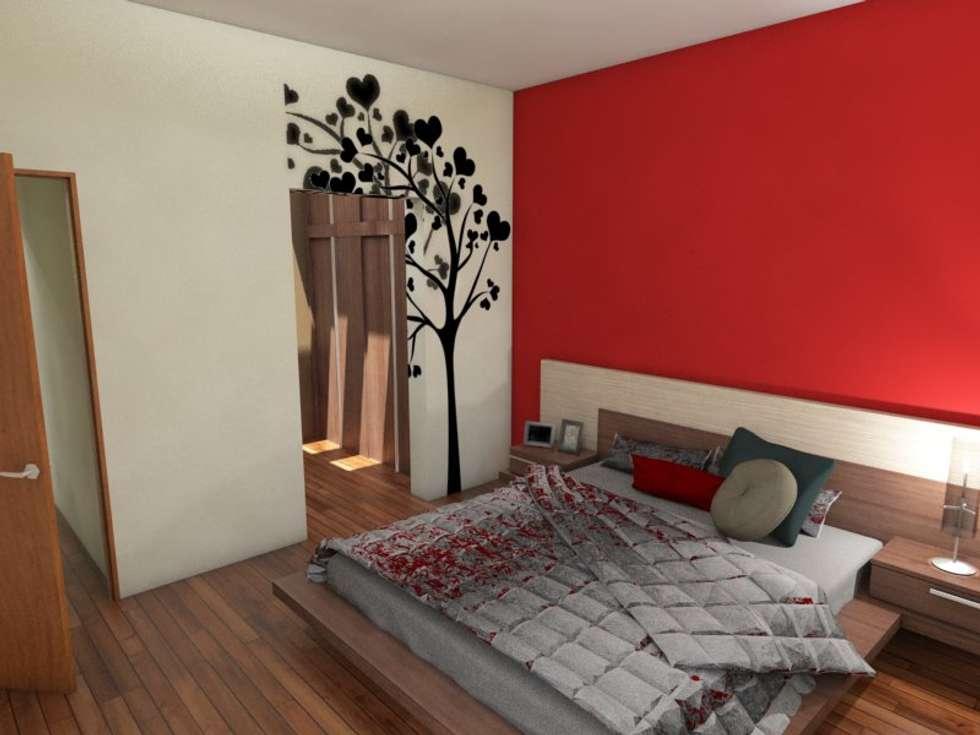 Dormitorio principal dormitorios de estilo moderno por for Foto del dormitorio principal moderno