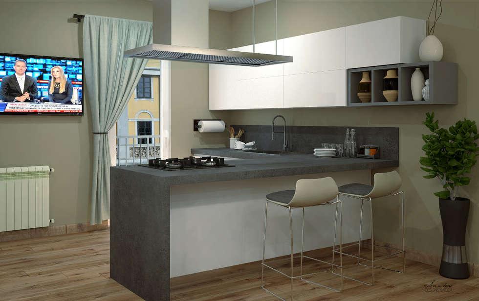 Cucina: Cucina in stile in stile Moderno di giuseppemarotta
