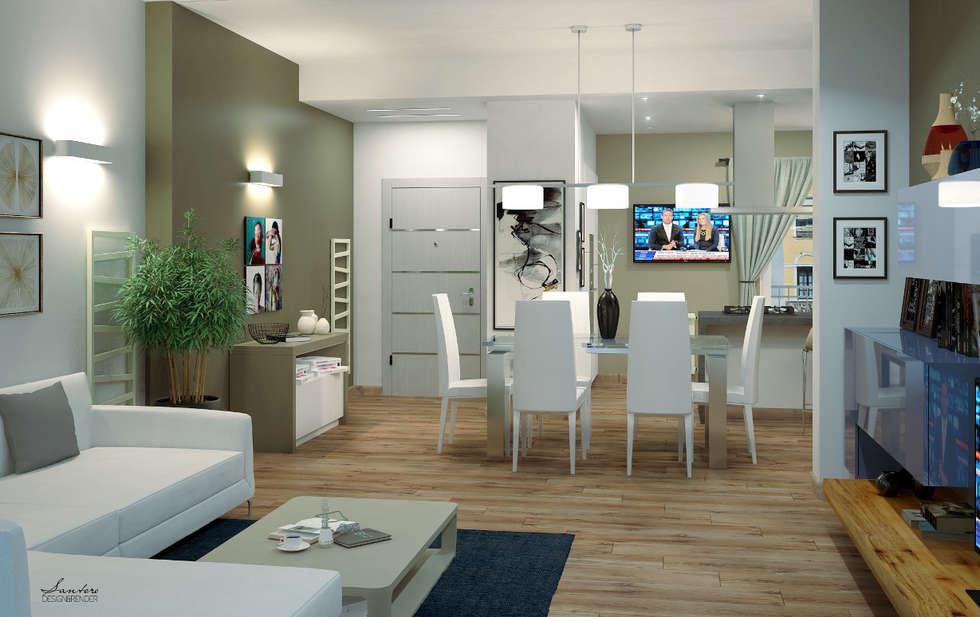 Sala soggiorno: Soggiorno in stile in stile Moderno di giuseppemarotta