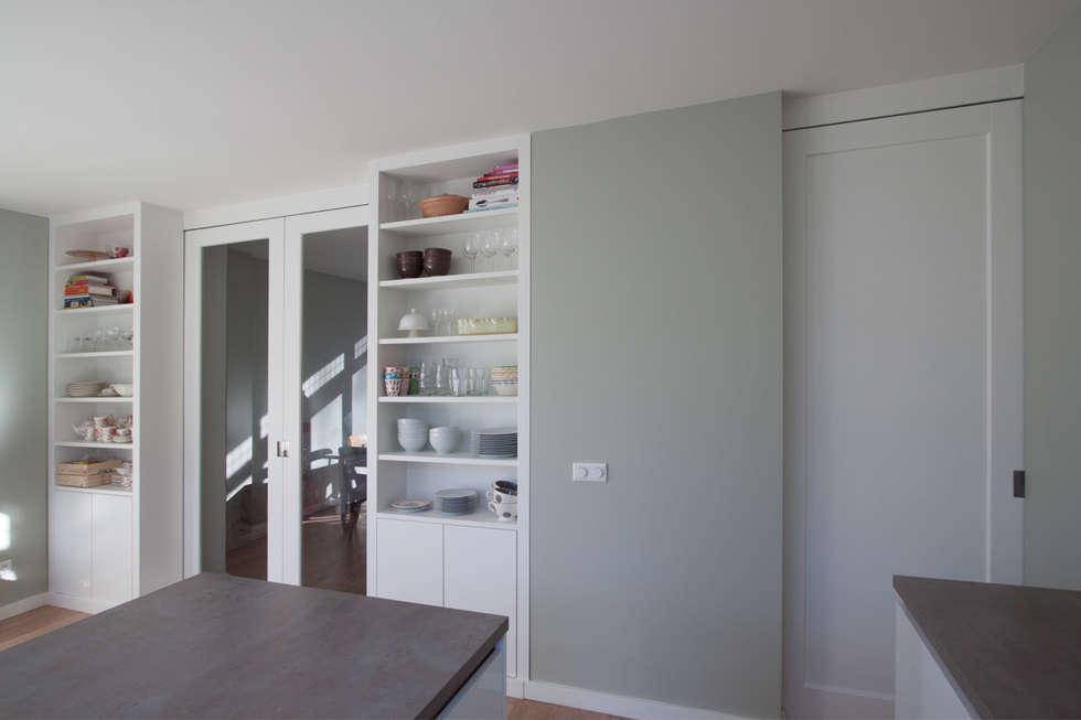 Jaren 50 Keuken : Aanbouw jaren woning moderne keuken door joolsdesign homify