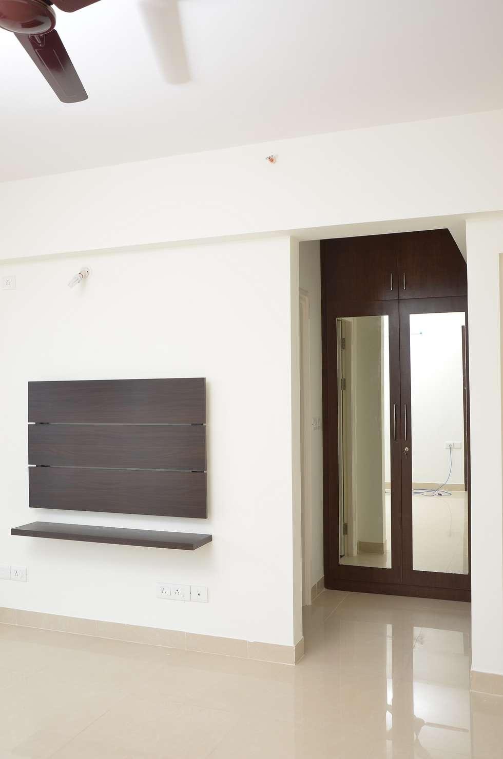 Complete 3BHK Interiors for Salarpuria Sattva Senorita apartment ...