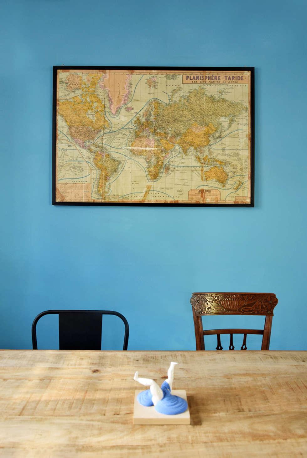 Arredi Vintage: Sala da pranzo in stile in stile Industriale di Mohamed Keilani Architect