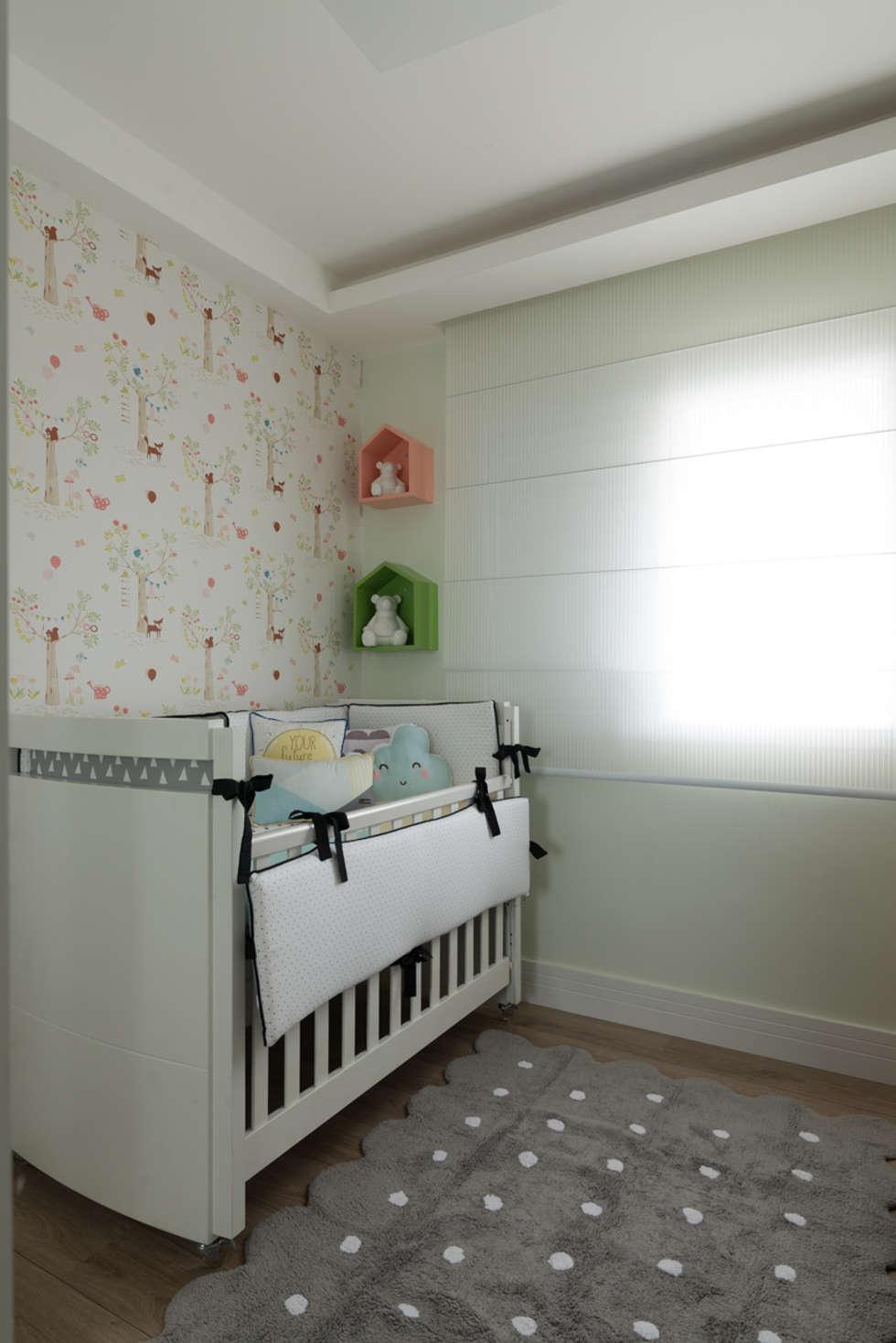 Fotos De Decora O Design De Interiores E Reformas Homify ~ Nicho De Parede Para Quarto De Bebe