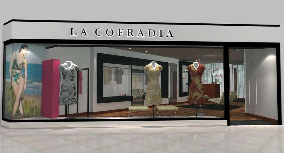 Idea proyecto local comercial oficinas y locales - Diseno locales comerciales ...