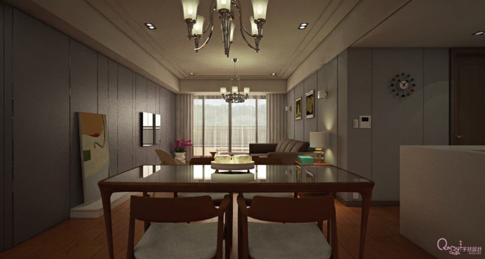 🍀:  餐廳 by 宇喆室內裝修設計有限公司