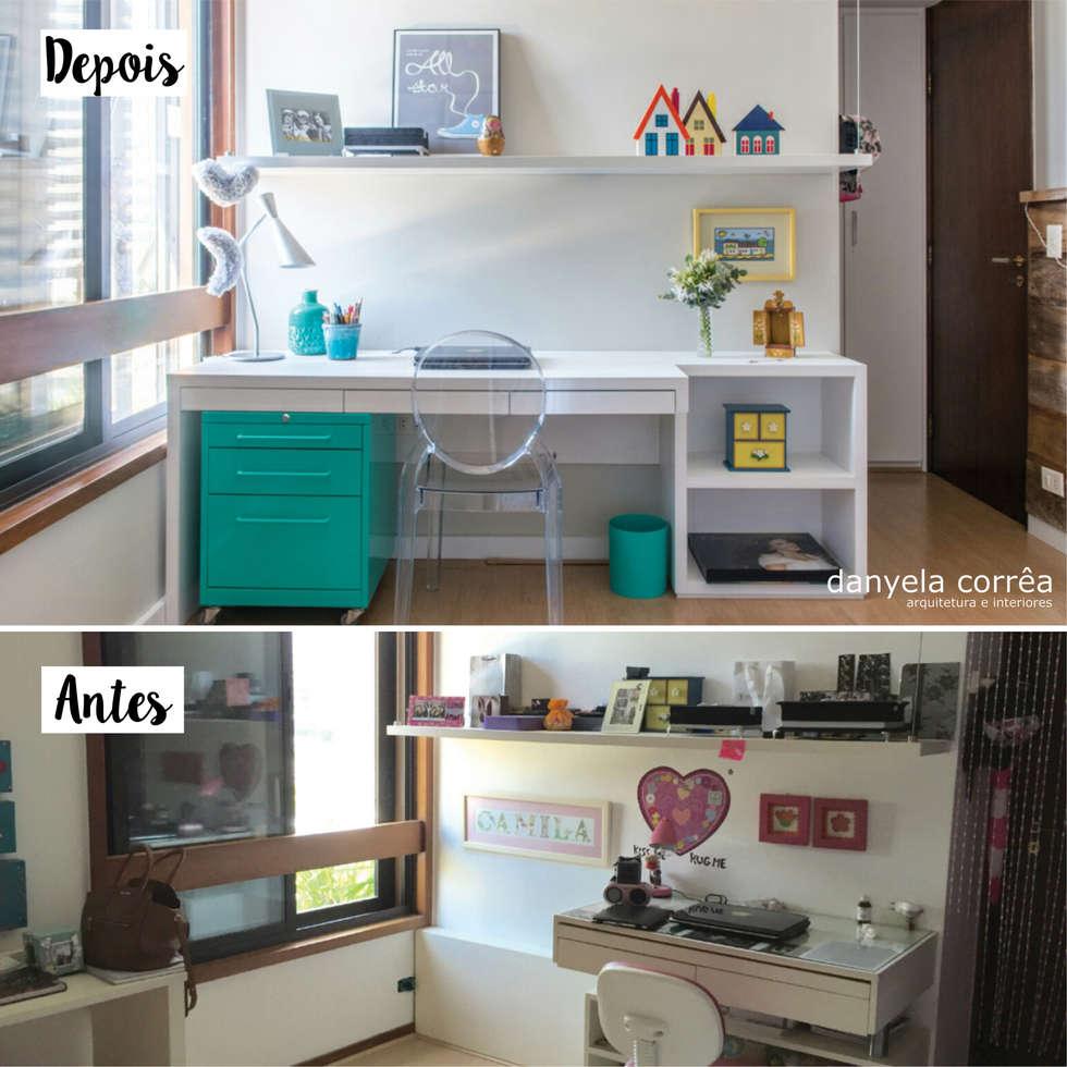 Fotos De Decora O Design De Interiores E Reformas Homify ~ Quarto Com Varanda Integrada E Prateleira Quarto Menina