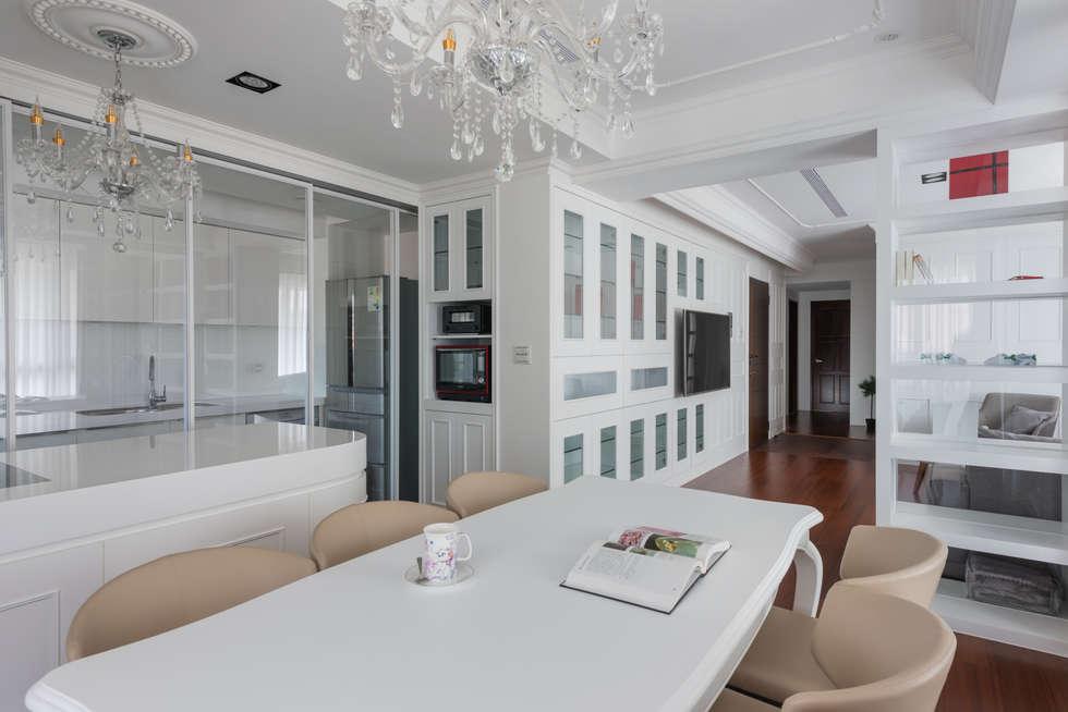 Glocal Architecture Office (G.A.O) 吳宗憲建築師事務所/安藤國際室內裝修工程有限公司의  주방