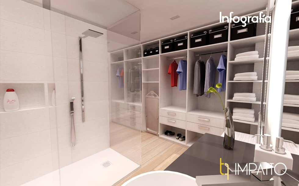 Fotos de decoraci n y dise o de interiores homify for Closet de concreto para cuartos