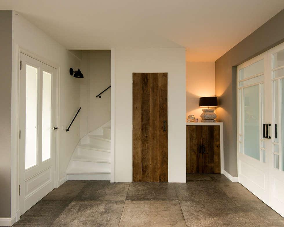 Eiken houten deuren maken het interieur helemaal af: moderne ...