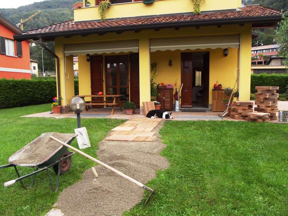 Idee arredamento casa interior design homify - Pavimento per giardino ...
