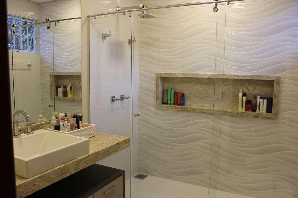 Fotos de banheiros modernos banheiro branquinho  homify -> Meu Banheiro Moderno