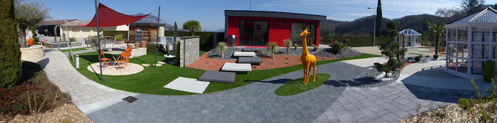 Abri de jardin contemporain: Abri de jardin de style  par Berger Jardins