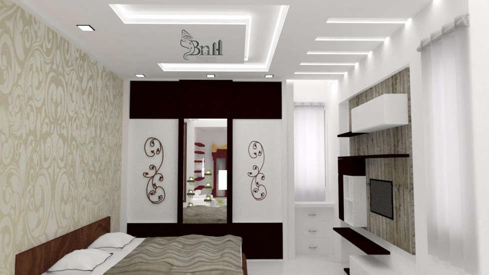 Residential Duplex Villa: modern Bedroom by BNH DESIGNERS