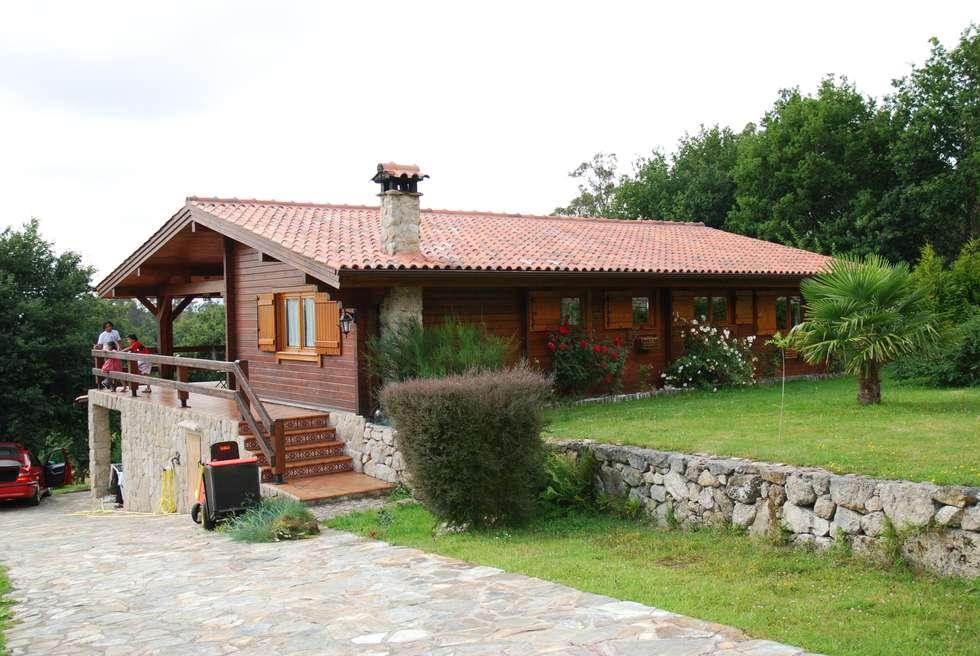 Fotos de decora o design de interiores e remodela es - Casas de madera portugal ...