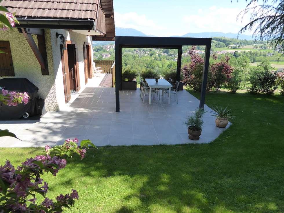 Faire de sa terrasse une vraie pièce à vivre: Jardin de style de style Moderne par Berger Jardins