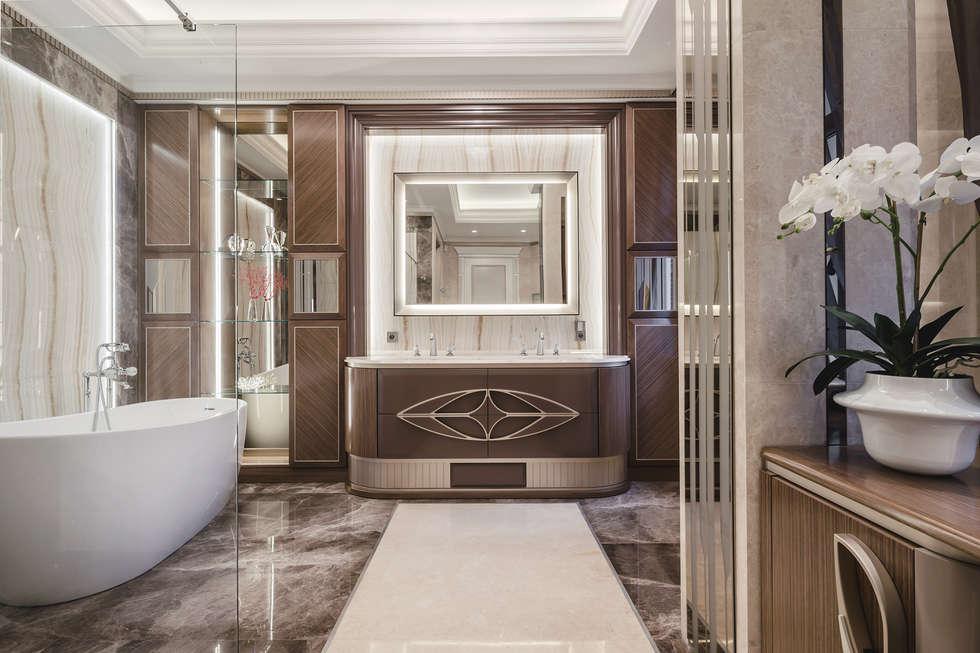 eclectic Bathroom by NG-STUDIO Interior Design