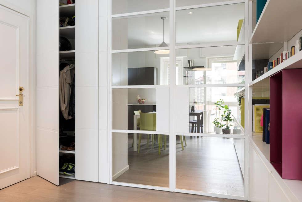 Idee arredamento casa interior design homify for Guardaroba ingresso