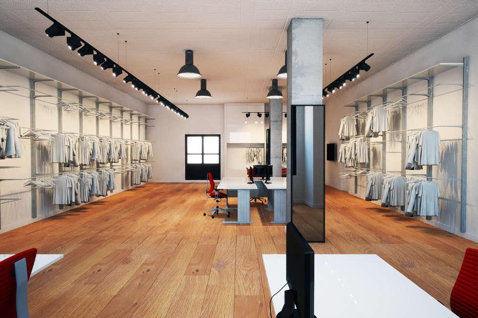 Fotos de decoraci n y dise o de interiores homify for Diseno locales comerciales