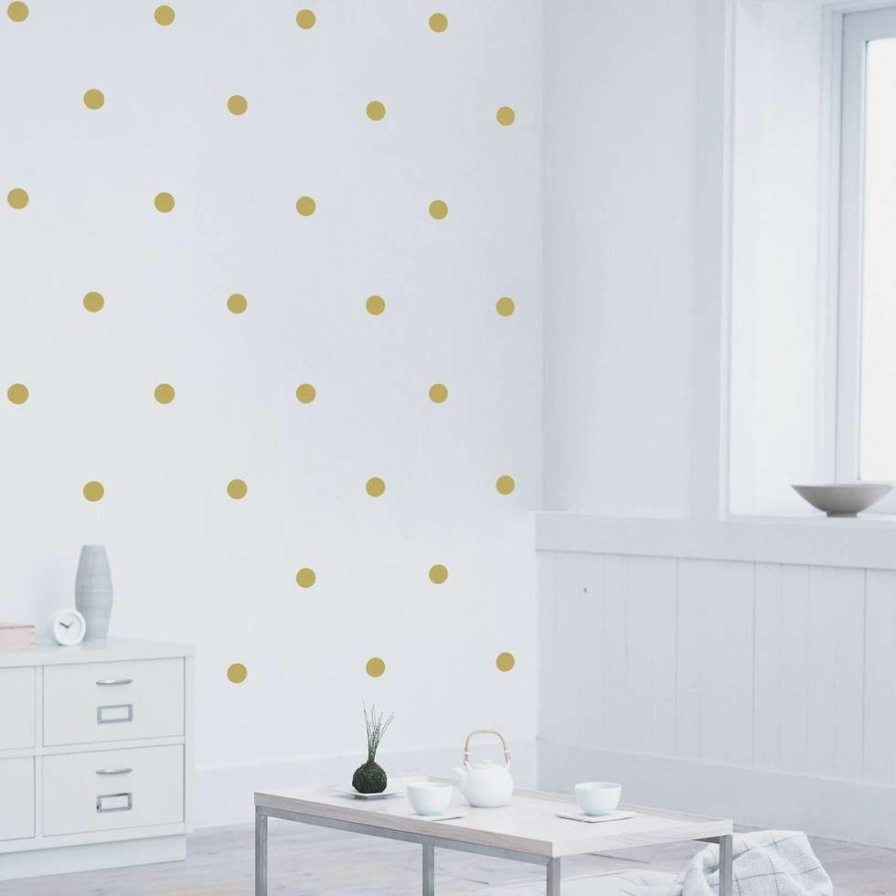 Cool Wandtattoo Kreise Decoration Of Bilderwelten Punkte: Moderne Schlafzimmer Von Bilderwelten
