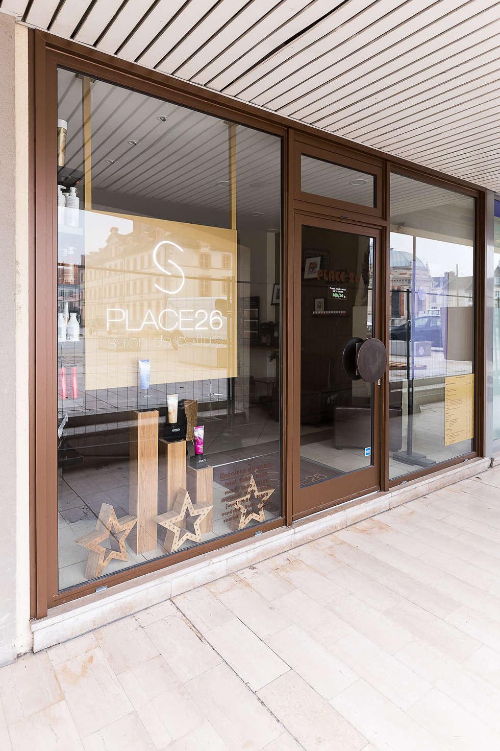 SALON PLACE 26: Lieux d'événements de style  par AUDE SWEET HOME