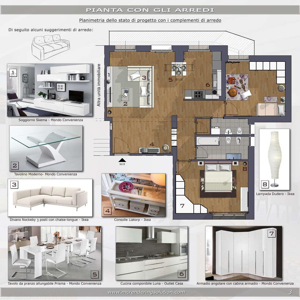 Idee arredamento casa interior design homify for Planimetrie della casa senza garage