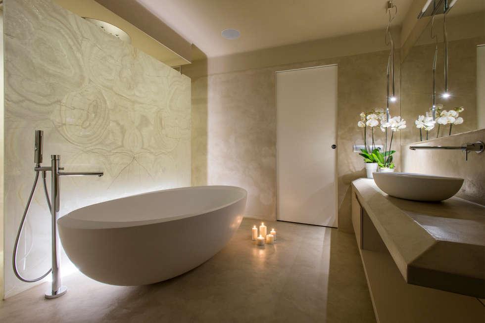 Idee arredamento casa interior design homify - Bagno con sale grosso ...