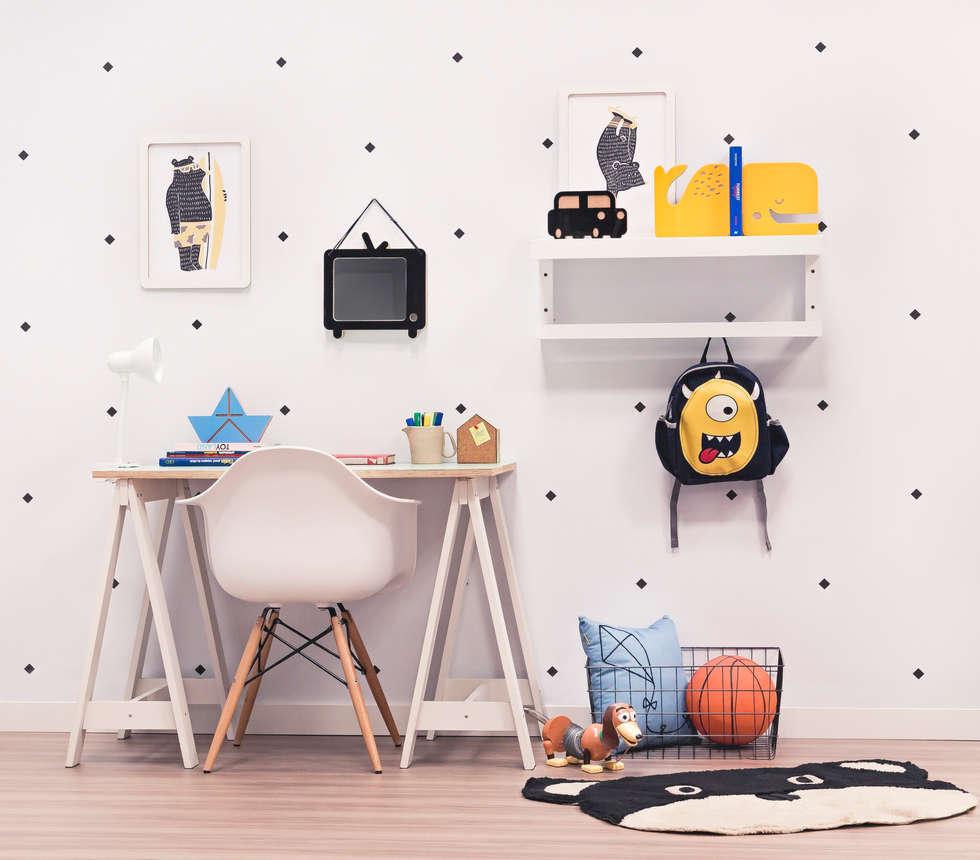 Fotos De Decora O Design De Interiores E Reformas Homify ~ Quadros Para Quarto De Menino E Espelho Decorativo Quarto