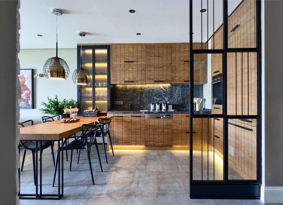 GUNDOGAN SUMMER HOUSE: modern Kitchen by Esra Kazmirci Mimarlik